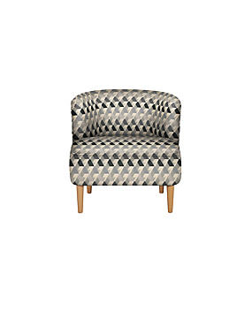 Kerava Armchair Miro Chenille Charcoal Mix - Self Assembly