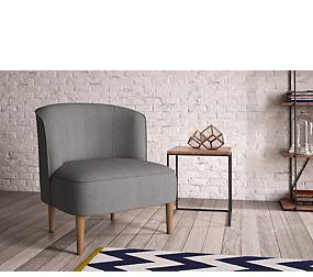 Kerava Armchair Soljen Charcoal