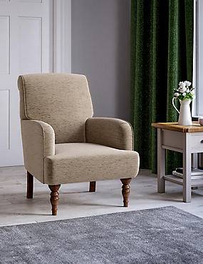 Denford Occasional Armchair Meredith Almond