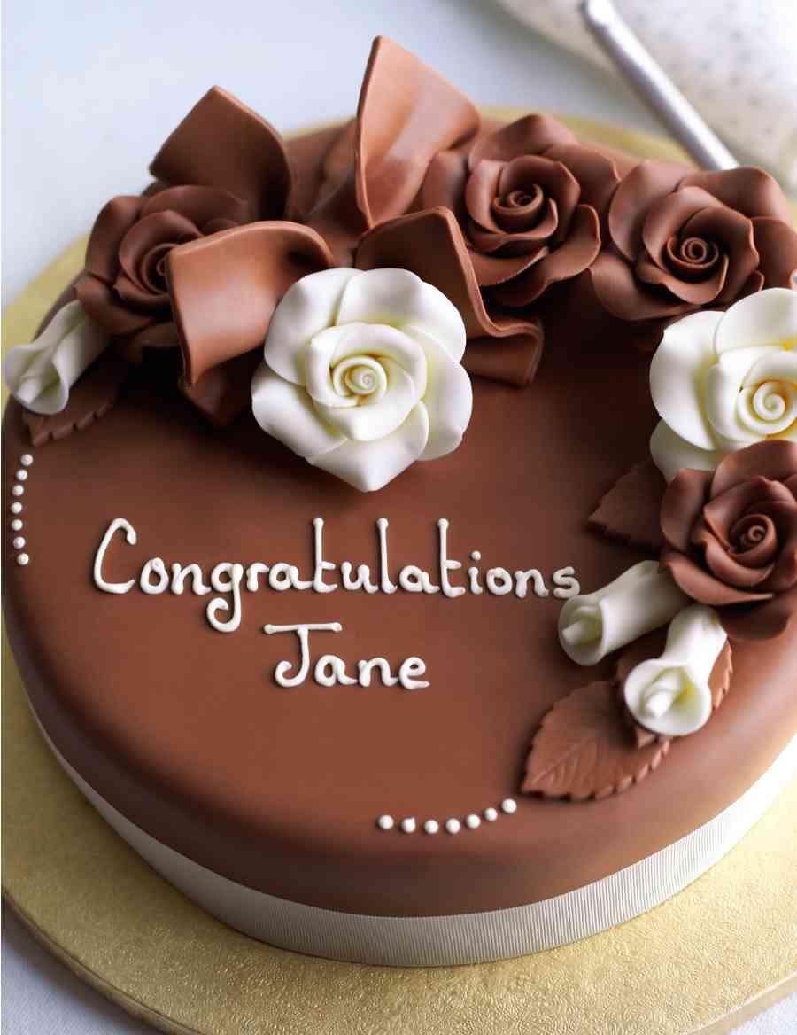 Connoisseur Chocolate Rose Cake M S