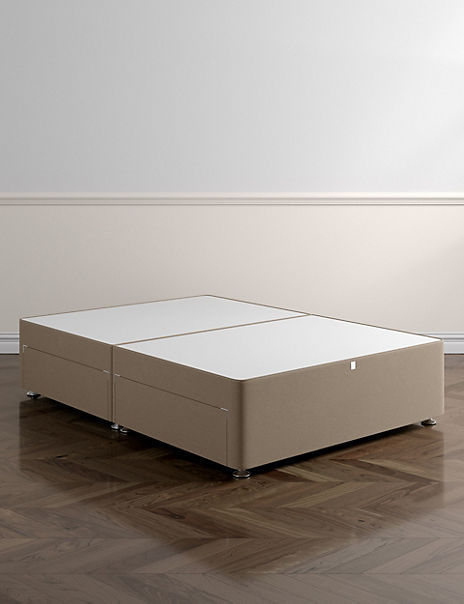 Classic Firm Top 2 Drawer Divan