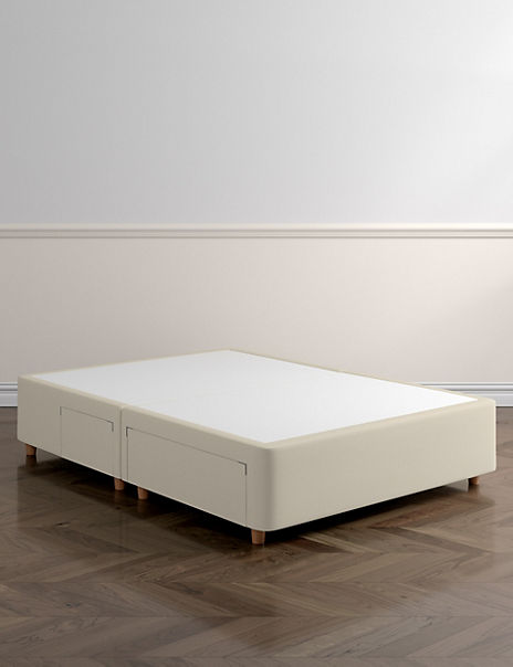 Classic Firm Top 2+2 Drawer Divan with Legs