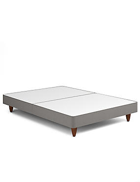 Contemporary Divan with Feet Options