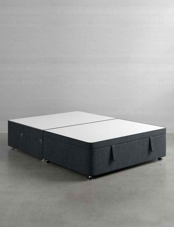 d4654c6d29c7 Half End Ottoman Divan with 2 Small Drawers