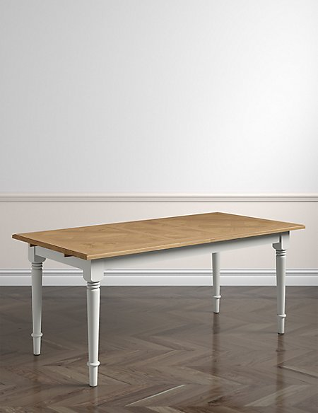 Greenwich Grey Rec Extending Dining Table