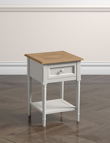 Greenwich Grey Side Table