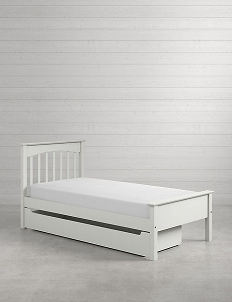 Hastings Kids Grey Storage Bed