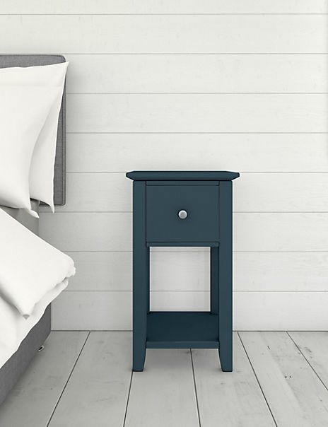 Set of 2 Hastings Mid Blue Bedside Tables