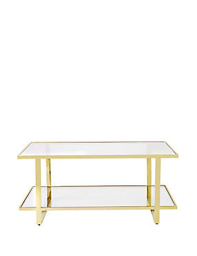 Madison Glass Coffee Table