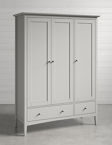 Hastings Triple wardrobe
