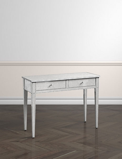 Evelyn Dressing Table Silver
