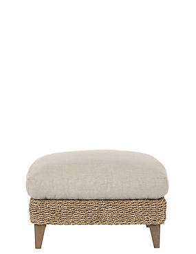 Bermuda II Footstool Neutral