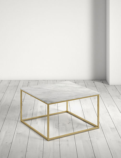 Farley Marble Square Coffee Table