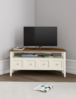 Greenwich Corner Tv Cabinet by Marks & Spencer