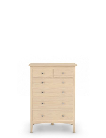 Hastings 4+2 Chest Soft White