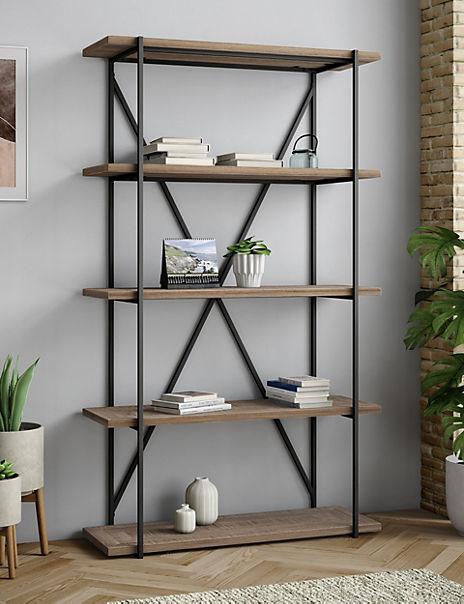 Sanford Parquet Bookcase