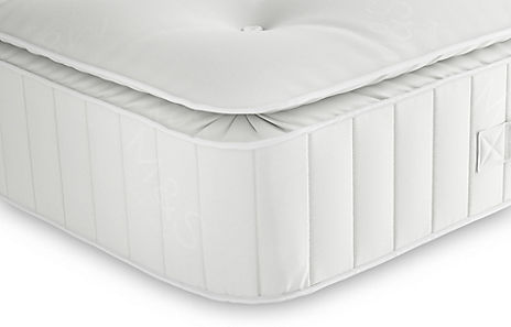 Essential Natural 325 Pillow Top Open Coil Mattress