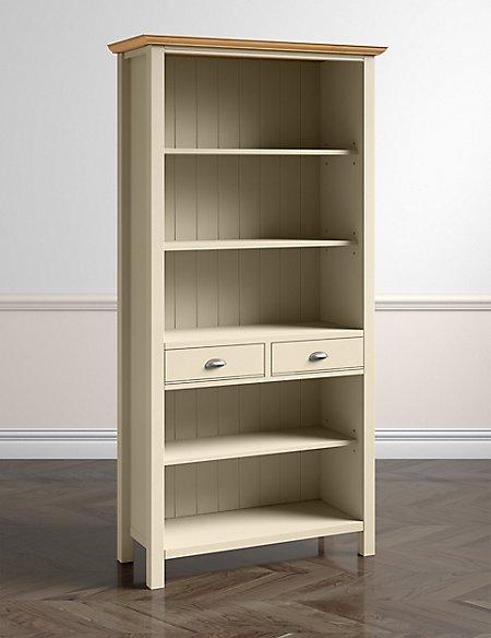 Padstow Bookcase Cream