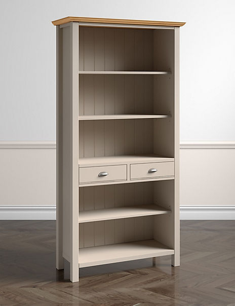 Padstow Bookcase Putty