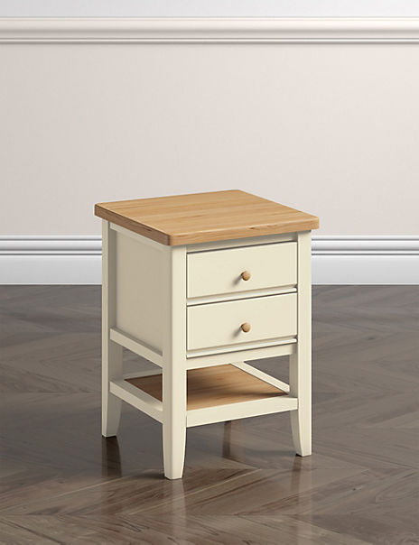 Cream Bedside Tables: Winchester Bedside Table Cream