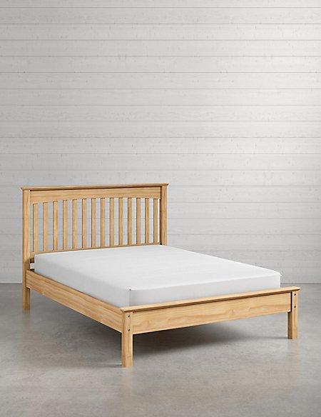 Hastings Light Natural Bed Stead