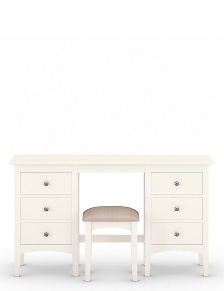Hastings Ivory Dressing Table Stool Set