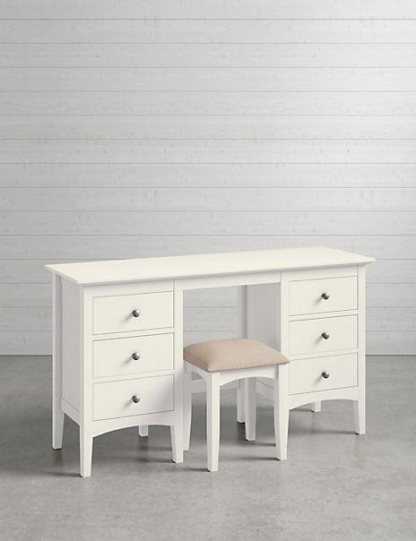 Hastings Ivory Dressing Table & Stool Set