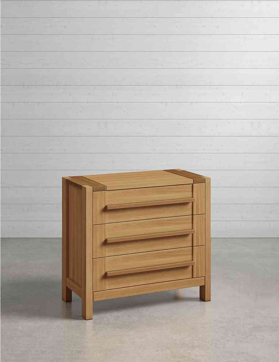 Sonoma Compact 3 Drawer Chest Ms