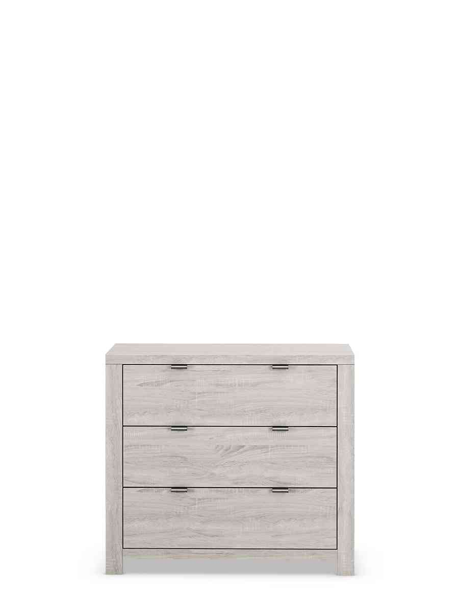 Arlo 3 Drawer Chest Ms