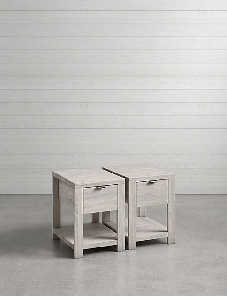Set of 2 Arlo Compact Bedside Tables