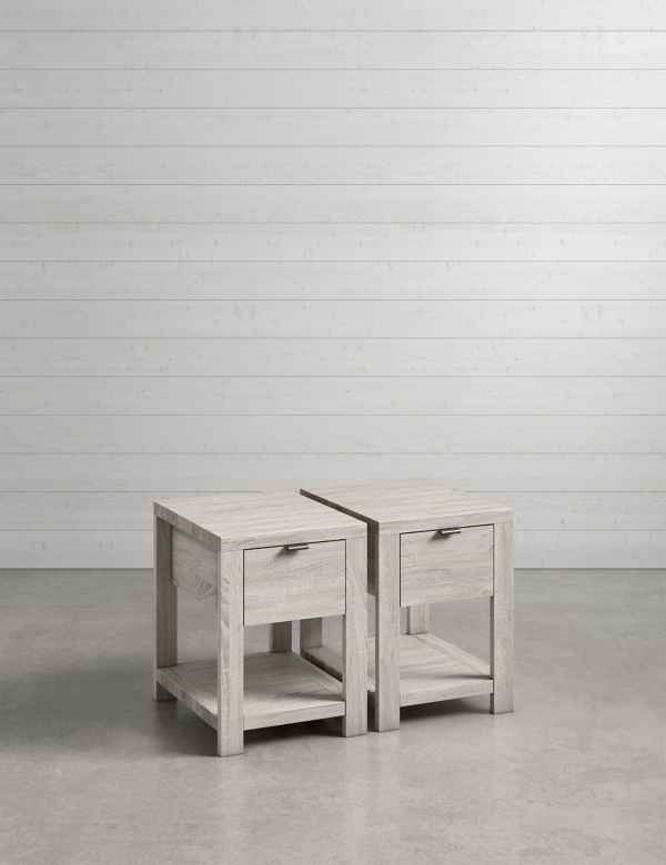 Set Of 2 Arlo Compact Bedside Tables M S