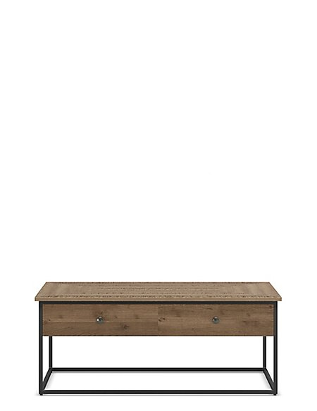 Sanford Parquet Storage Coffee Table