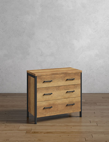 Baltimore 3 Drawer Chest