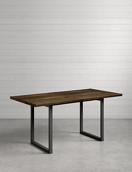 Sanford Live Edge Dining Table
