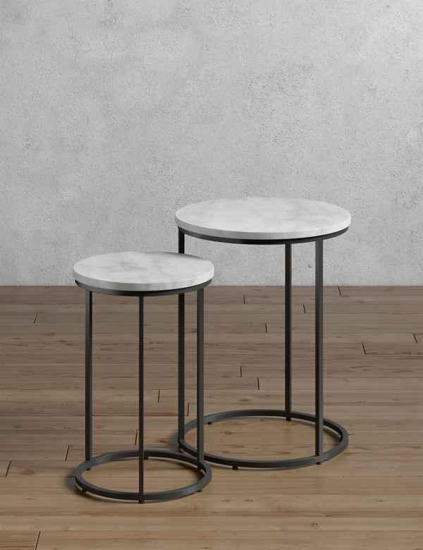 b87749a86d Side Tables & Nest | Glass & Oak Side Tables | M&S IE