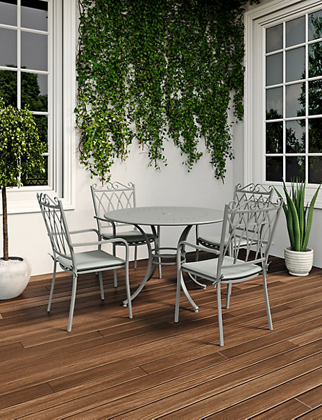 Rosedale Garden Table & Set of 4 Chairs