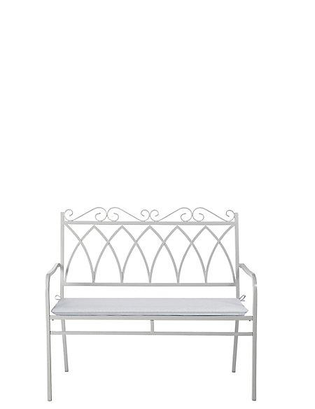 Rosedale Bench Grey
