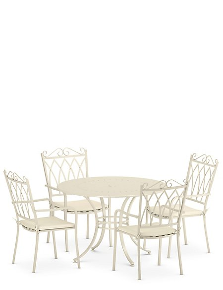 Rosedale Table & 4 Chairs