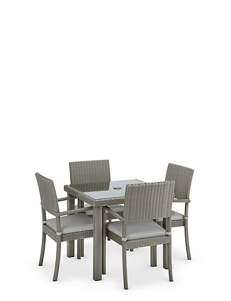 Marlow Square Table & 4 Chairs