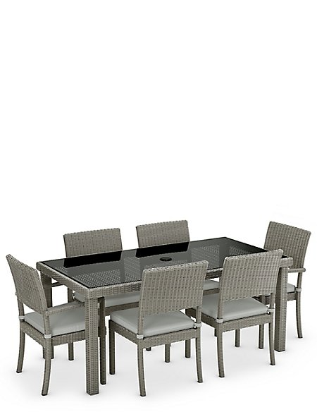 Marlow Large Table & 6 Chair Set