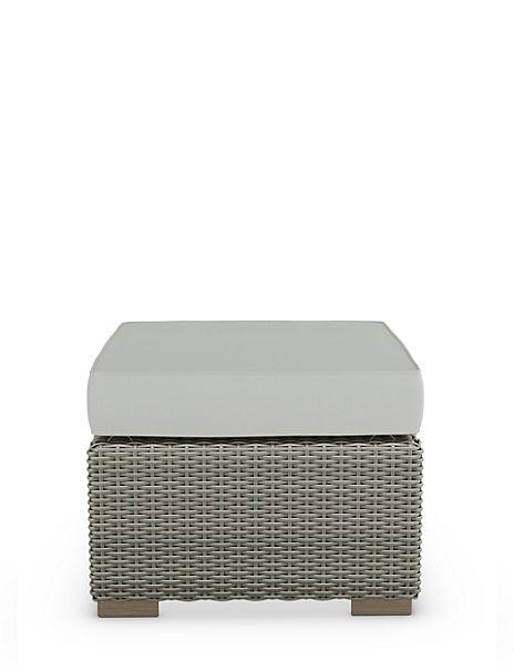 Marlow Footstool Grey