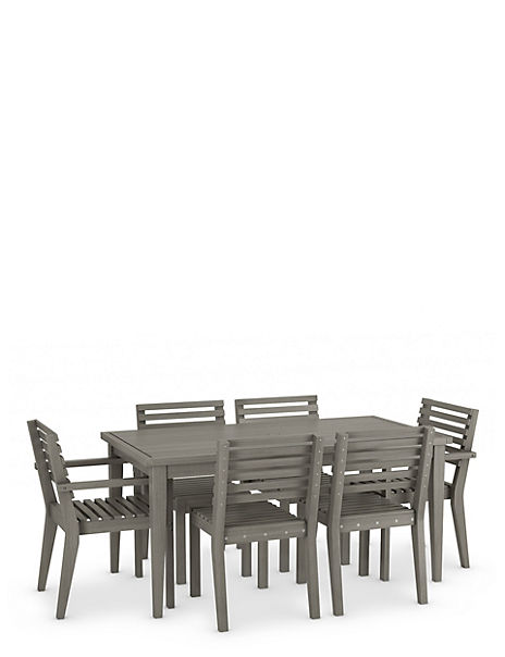Melrose Table & 6 Chairs