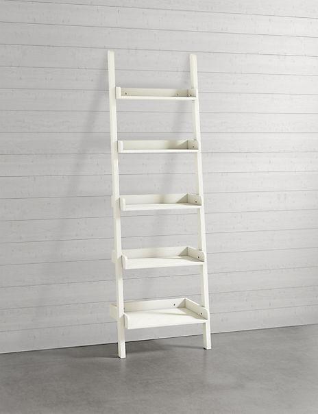 Step Ladder - White