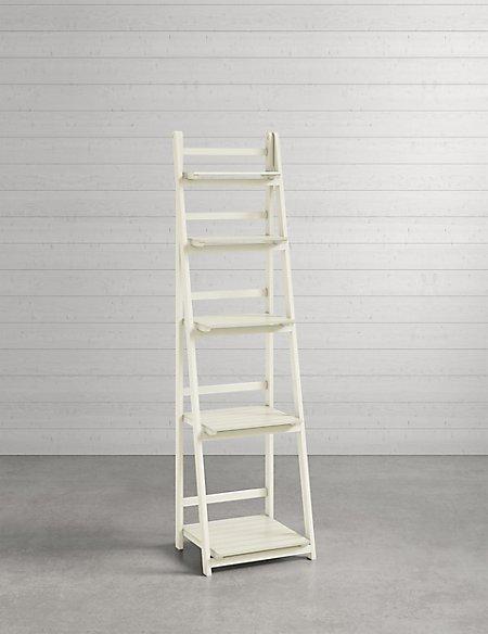 Nagoya Folding Shelving High White