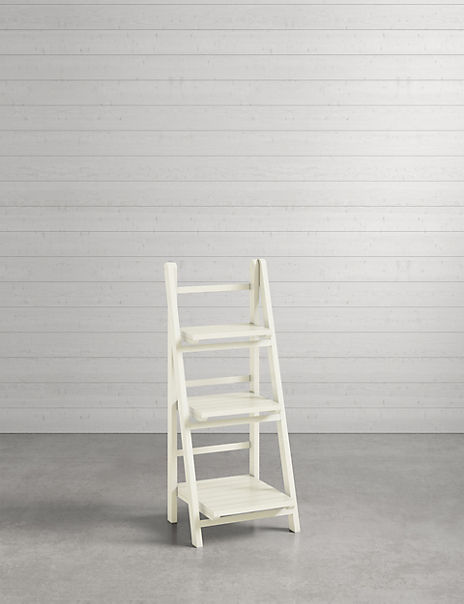 Nagoya Folding Shelving Low White