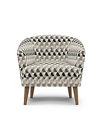 Benni Armchair Miro Charcoal Mix
