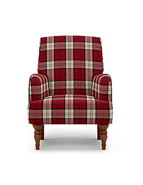 Denford Armchair Afton Red