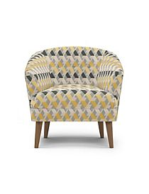 Benni Armchair Miro Yellow Mix