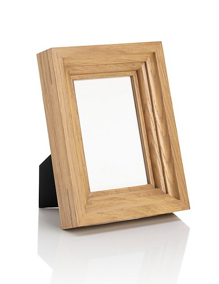 """Oak Photo Frame 10 x 15cm (4 x 6"""")"""