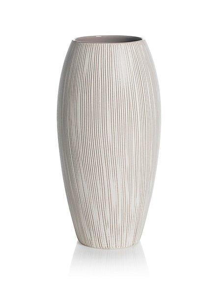 Textured Lines Vase
